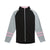 Footjoy Womens Full-Zip Raglan Color Block Mid Layer - Black - Previous Season Style