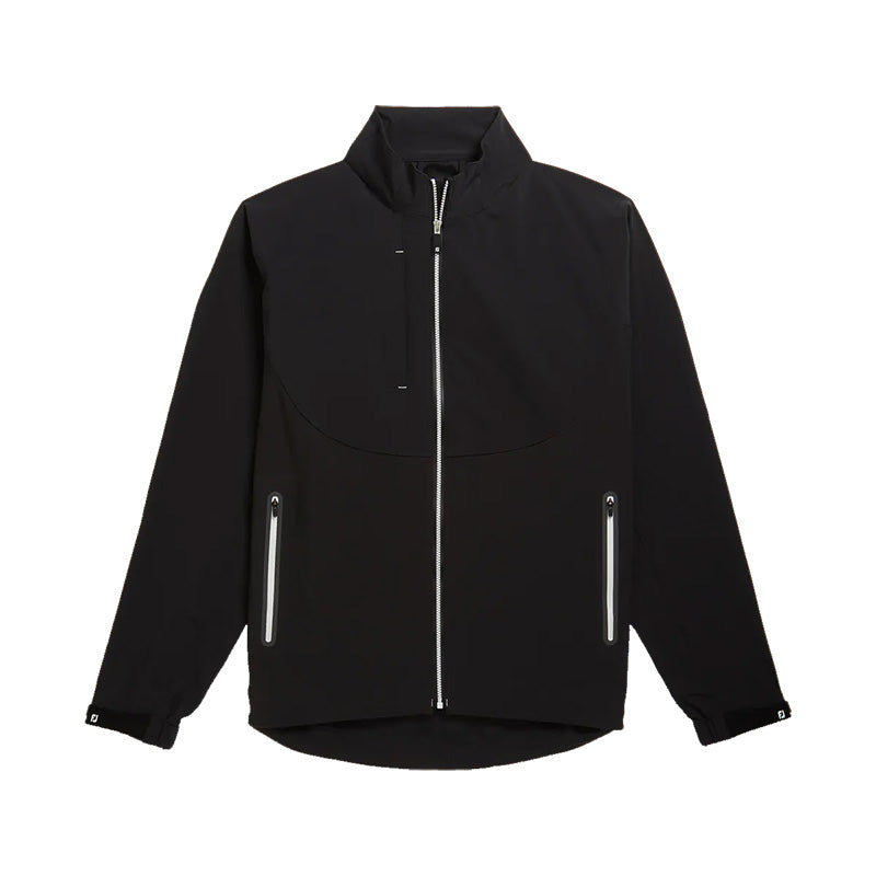 Footjoy DryJoys Tour LTS Jacket - Black/White - Previous Season Style