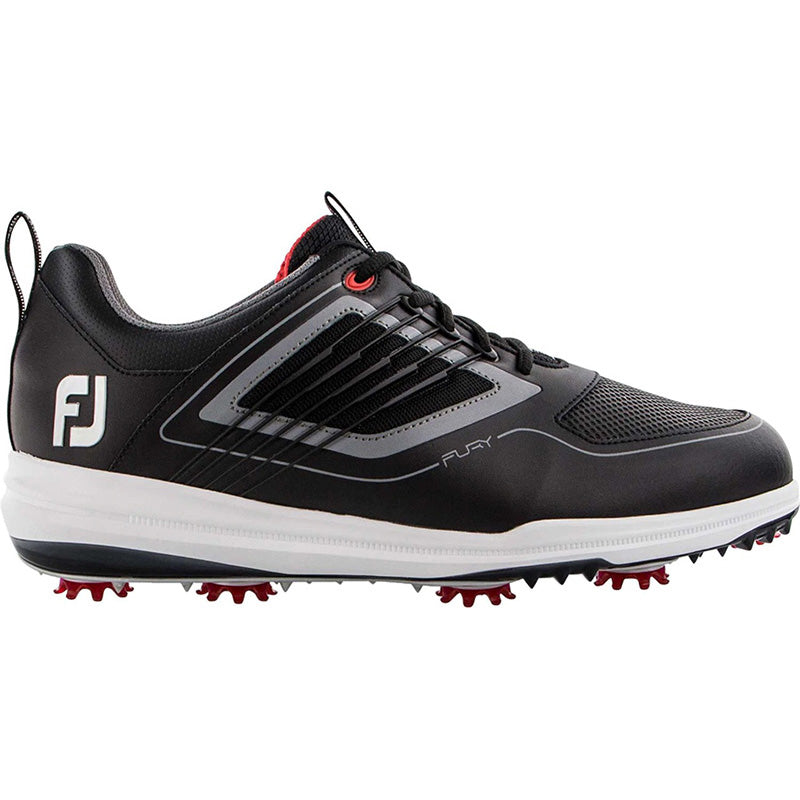 Footjoy Fury Golf Shoes - Black - Previous Season Style