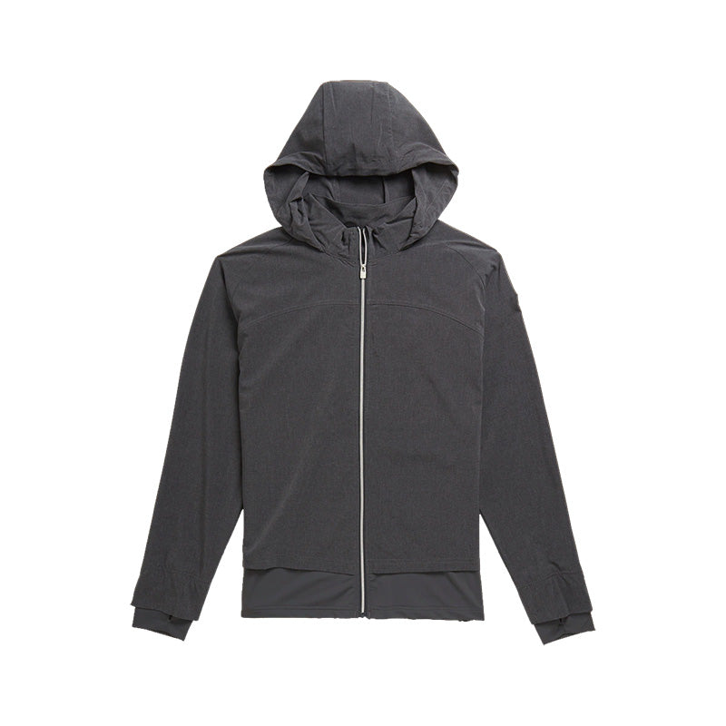 Footjoy Womens Stretch Woven Knit Mid Layer Jacket - Charcoal - Previous Season Style