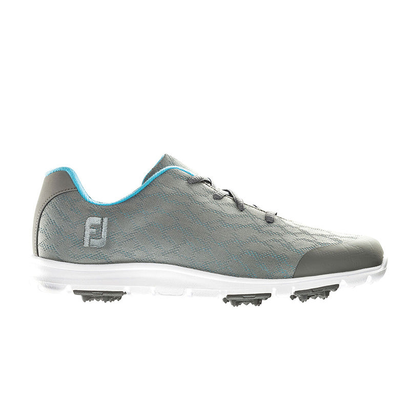 Footjoy Womens Enjoy Spikeless Golf Shoes - Grey -Previous Season Style - Size 7