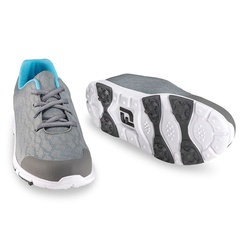 Footjoy Womens Enjoy Spikeless Golf Shoes - Grey -Previous Season Style
