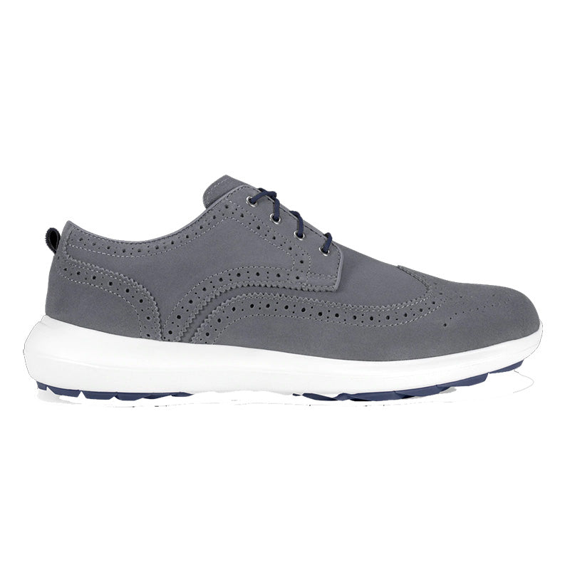 Footjoy FLEX LE1 Golf Shoes - Grey Suede - Previous season style