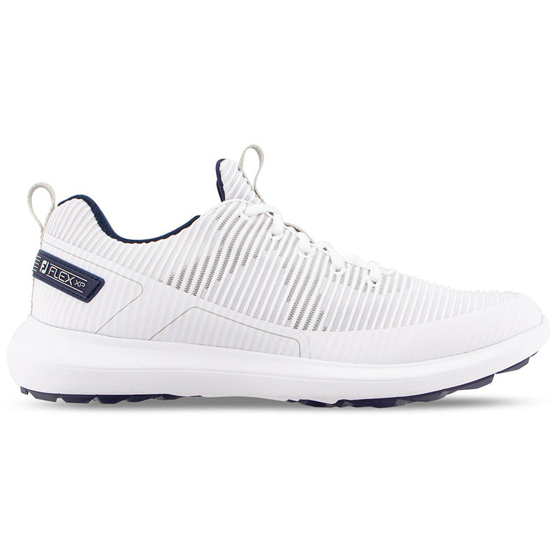 Footjoy Flex XP Golf Shoes - White - Previous Season Style