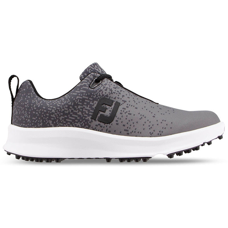 Footjoy Womens Leisure Golf Shoes - Black/Charcoal - Previous Season Style