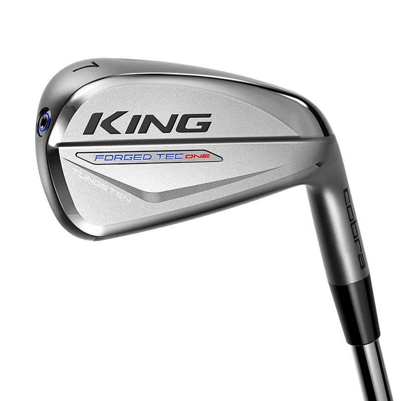 Cobra King Forged TEC One Length Iron set - 4-PW - Steel shafts