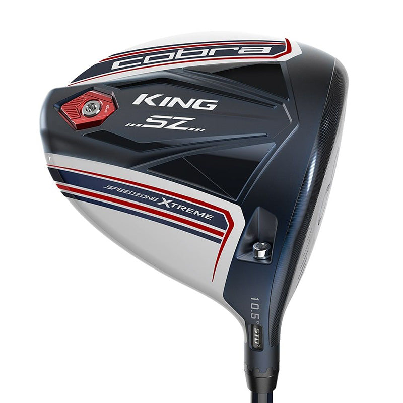 Cobra King Speedzone Xtreme Driver -  Pars and Stripes Limited Edition - Right hand / 10.5 / Regular Flex
