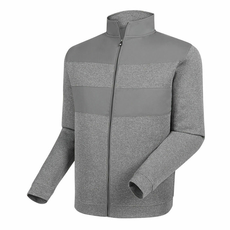 Footjoy Flat Back Rib Full-Zip Mid Layer Sweater