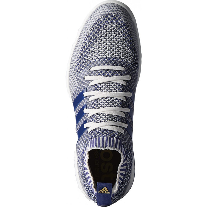 ADIDAS 360 Knit Golf Shoes - Grey/Purple/White