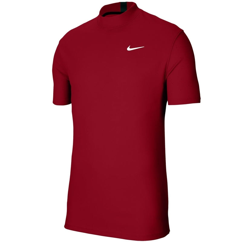 Nike Dri-Fit Tiger Woods Mock Neck Polo