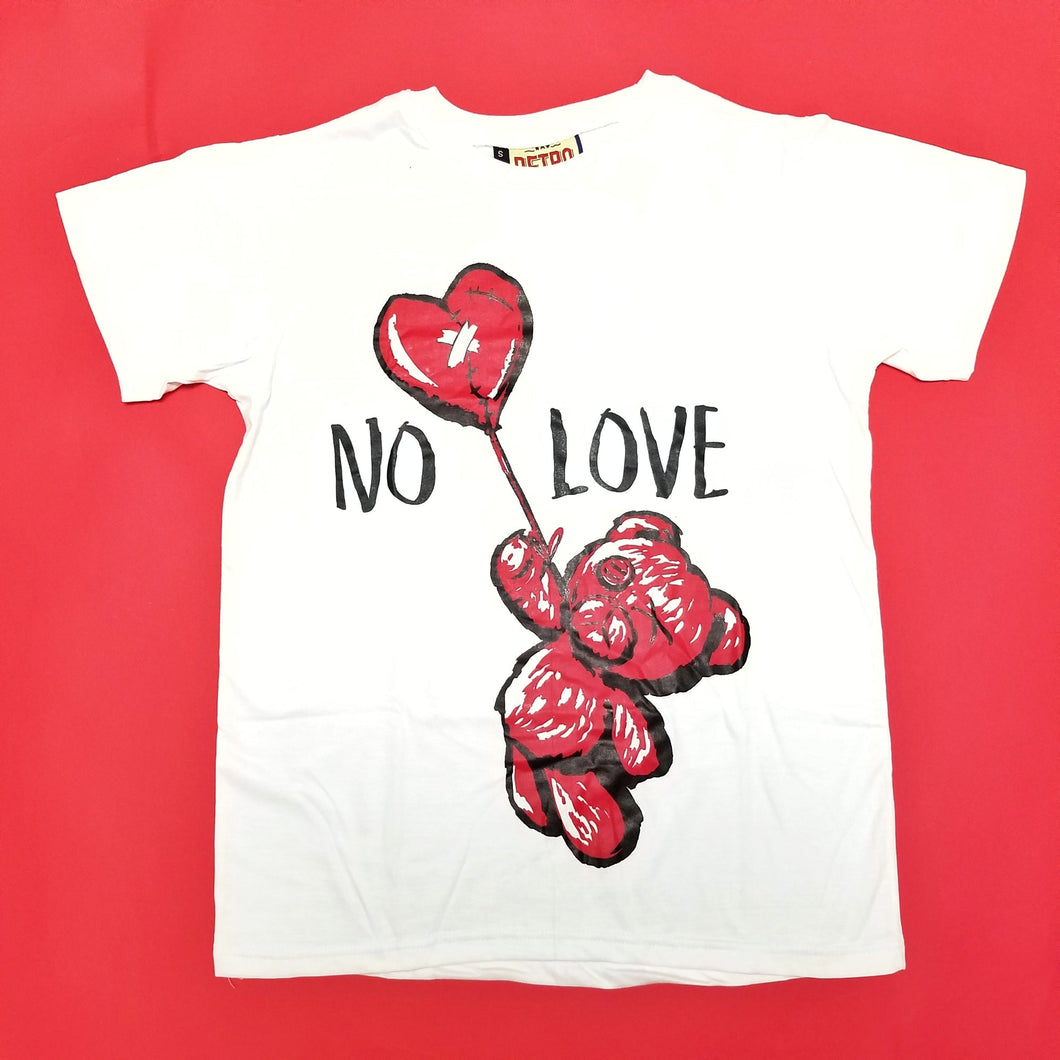 Retro Label No Love Shirt White (Retro 9)