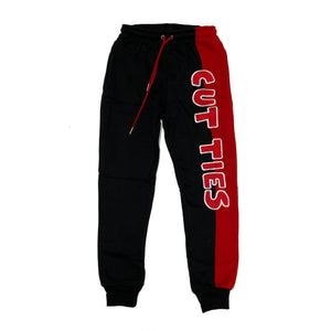 Retro Label Cut Ties Joggers (Retro 13 Reverse He Got Game)