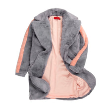Load image into Gallery viewer, Vie Riche Teddy Bear Overcoat (Grey)