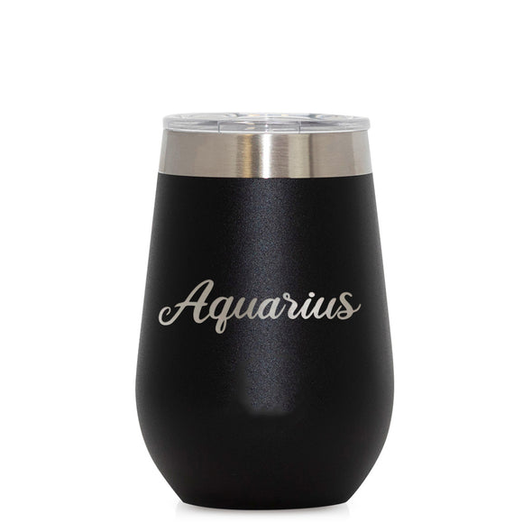 12 oz Wine Cup - Aquarius
