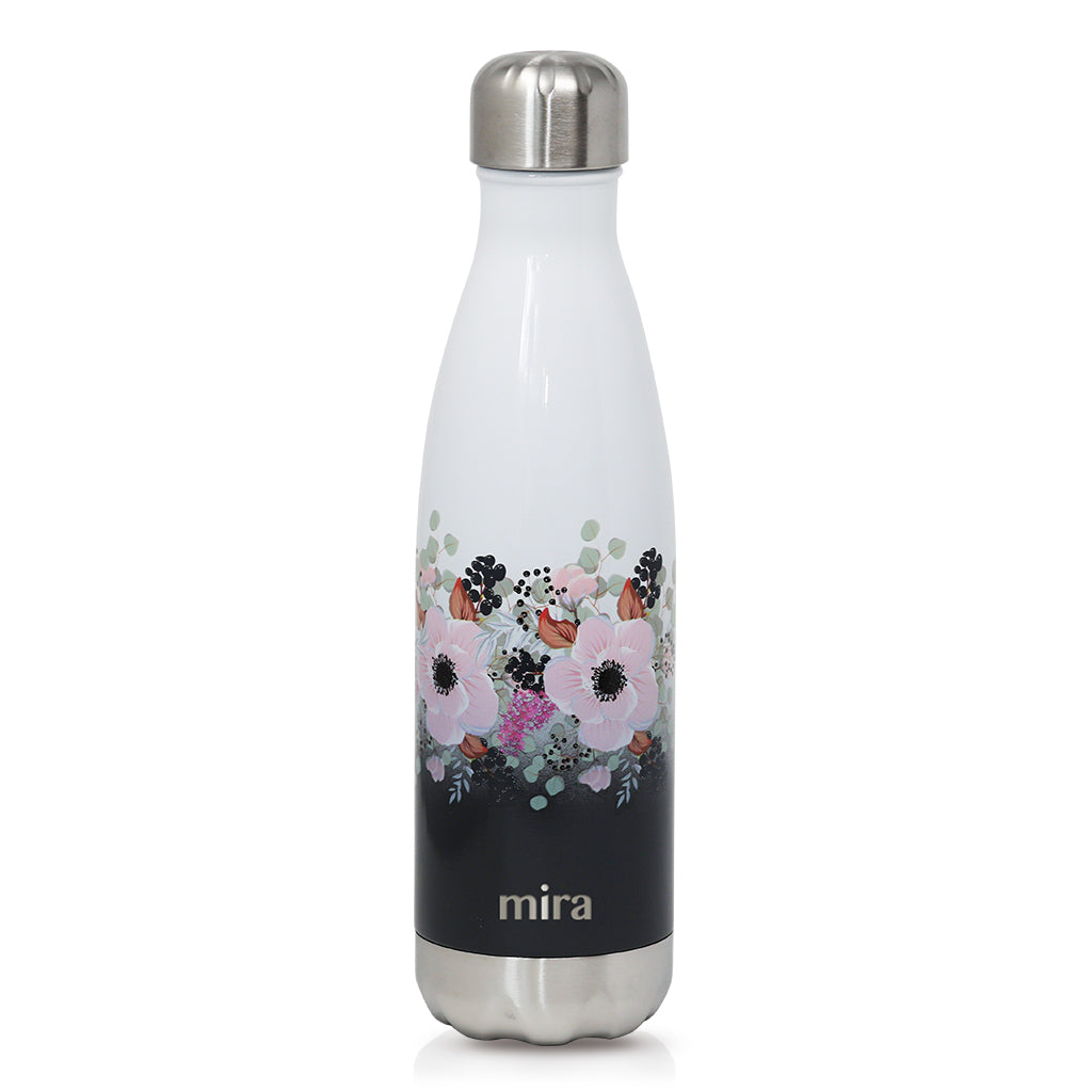 Peonies Cascade Mira Insulated Stainless Steel Water