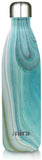 MIRA Cascade Water Bottle - 25 oz (750 ml) - Printed - Teal Granite