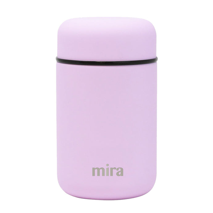 Mira Vacuum Insulated Lunch Food Jar - 13.5 Oz (400 ml) - Lilac