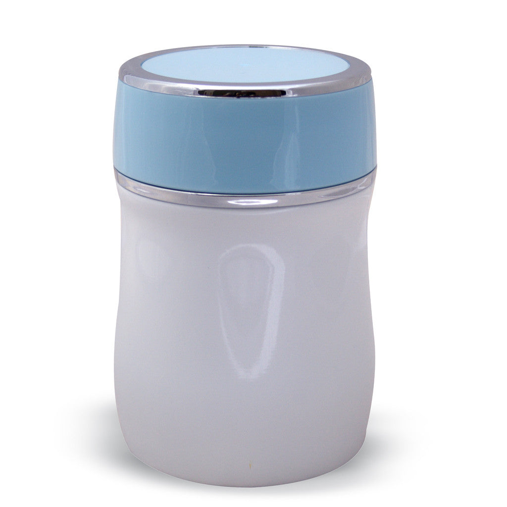 Zell Vacuum Insulated Lunch Food Jar | Durable BPA Free Stainless Steel Lunch Container | Eco-friendly, Double Wall Lunch Jar Keeps Your Food Hot or Cold | 13.5 Oz (400 ml) | Sky Blue