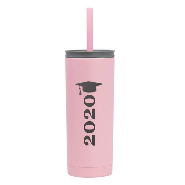 20 oz Voyager with Straw Lid - 2020 Grad