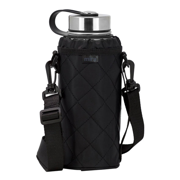 Water Bottle Carrier | Wide Mouth Bottles | Smooth Twill | 32 oz Sierra