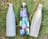 MIRA Cascade Water Bottle - 17 oz (500 ml) - Printed - Gray White Granite