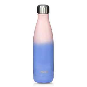 Cascade Water Bottle - Patterns - Cotton Candy
