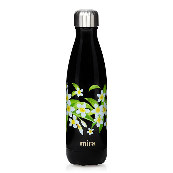 Cascade Water Bottle - Patterns - Plumeria