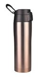 MIRA Stainless Steel Insulated Travel Car Mug | Leak & Spill Proof, Flip Lid with Lock & Handle | Double Wall Vacuum Insulated Coffee & Tea Mug Keeps Hot or Cold | 16 Oz (475 ml) | Gold