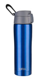 MIRA Stainless Steel Insulated Travel Car Mug | Leak & Spill Proof, Flip Lid with Lock & Handle | Double Wall Vacuum Insulated Coffee & Tea Mug Keeps Hot or Cold | 16 Oz (475 ml) | Blue
