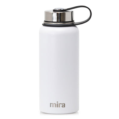 Mira Sierra Water Bottle - White
