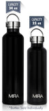 MIRA Replacement Stainless Steel Lid for MIRA Alpine Water Bottle - 34 oz & 25 oz