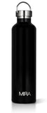 MIRA Alpine Water Bottle - 34 oz (1 Liter) - Black