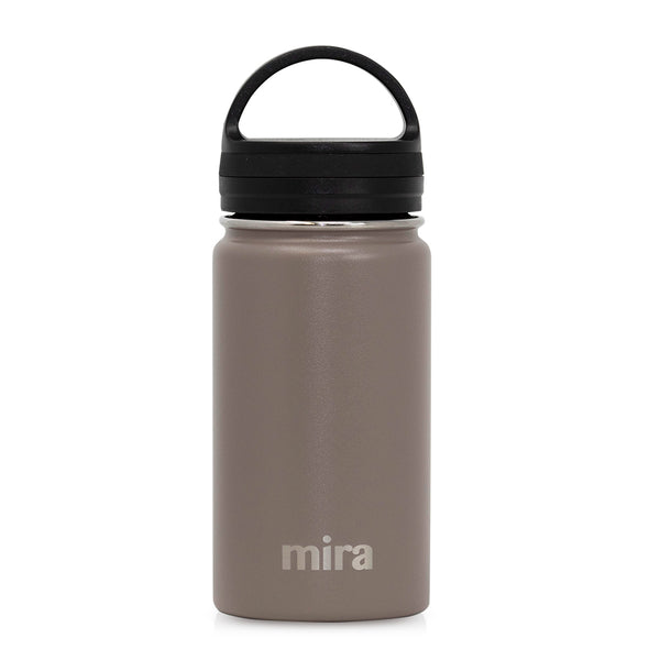 12 oz Mira Sierra Water Bottle - Smoke Gray