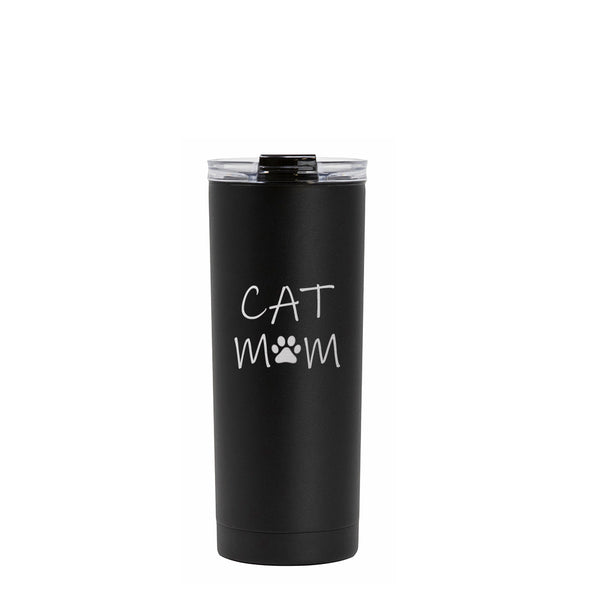20 oz Voyager with Flip Lid - Cat Mom