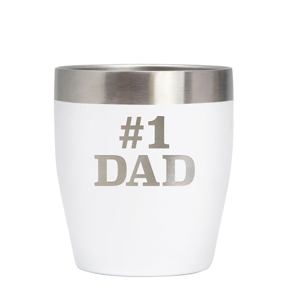 12 oz Rocks Cup - Dad #1