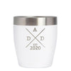 12 oz Rocks Cup - Dad Est 2020