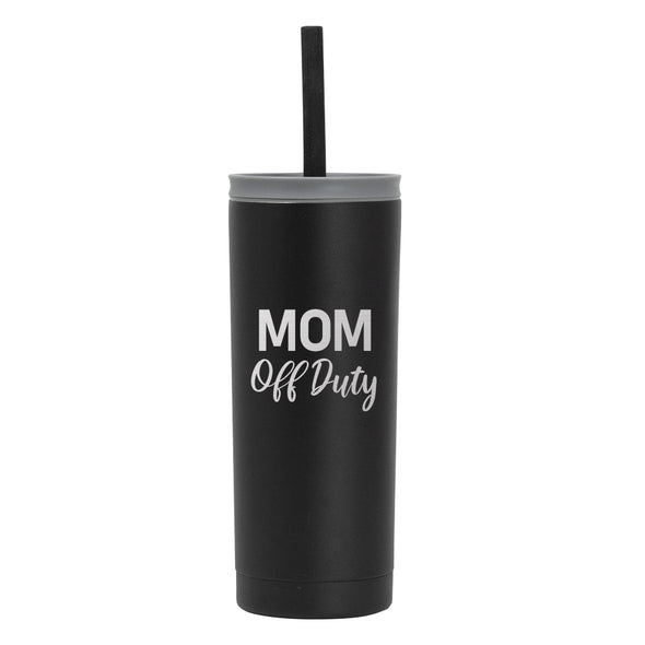 20 oz Voyager with Straw Lid - Mom Off Duty