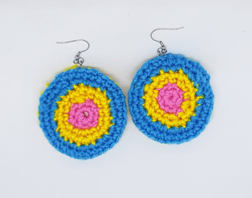 Pansexy (Pansexual) earrings