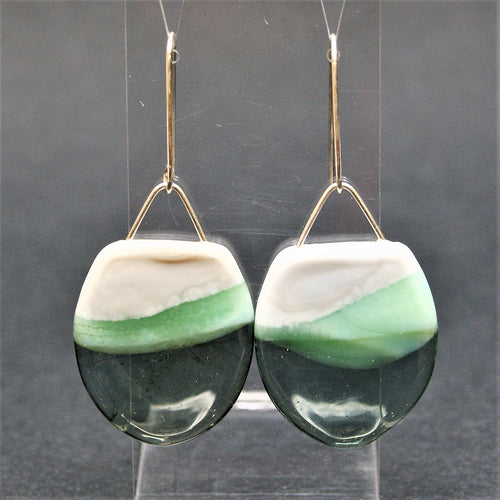 Landscape - drop earrings