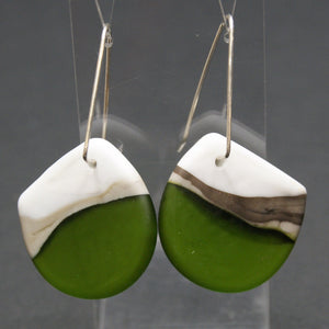 Landscape - drop earrings 2