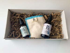 Sustainable Gift Set Acne-prone and Oily Skin - Makeup Remover and Face Serum - Re:connection Skincare