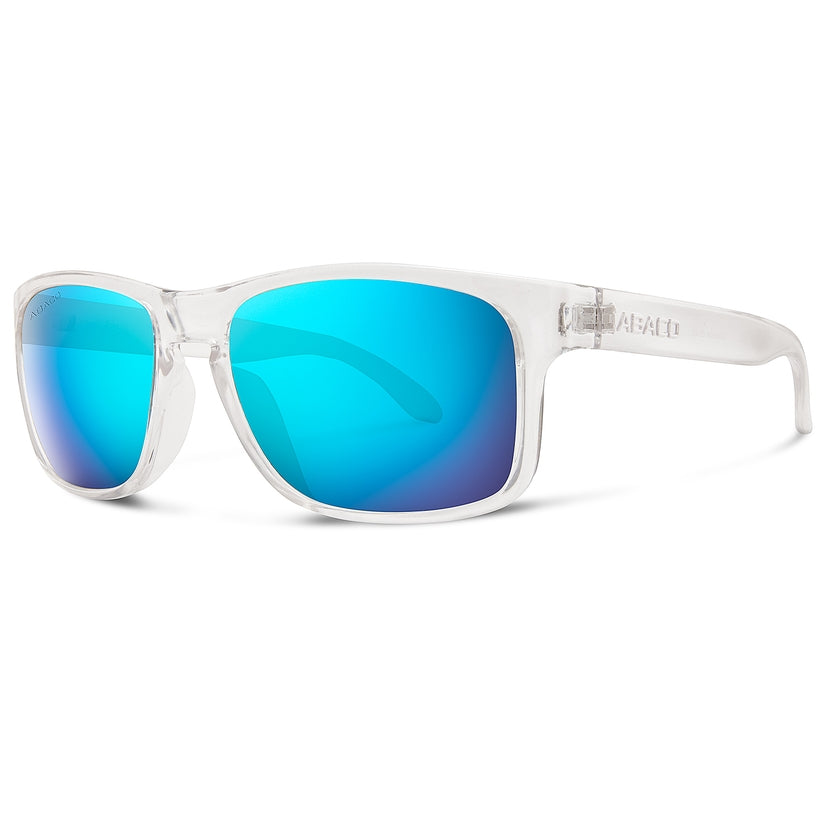 Dockside Sunglasses - Crystal Clear Ocean Mirror Lenses