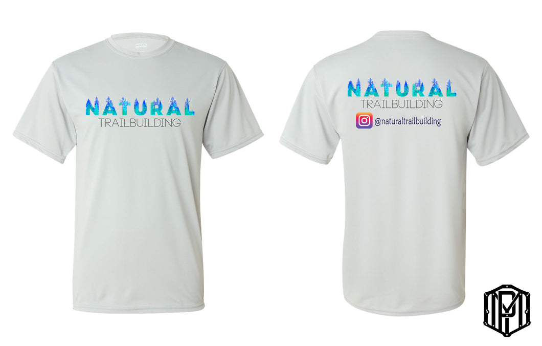 Natural Trailbuilding Dry Fit Shirts