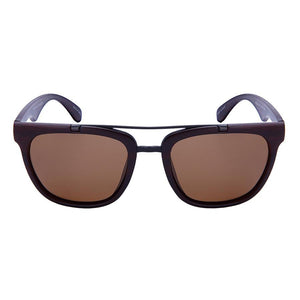 Coast - ZunnyDāz - Aviator - Dark Wood/Dark Wood Temple Frames + Black Lens