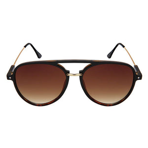 Collins - ZunnyDāz - Aviator - Matte Black Frames + Forest Green/Black Lens