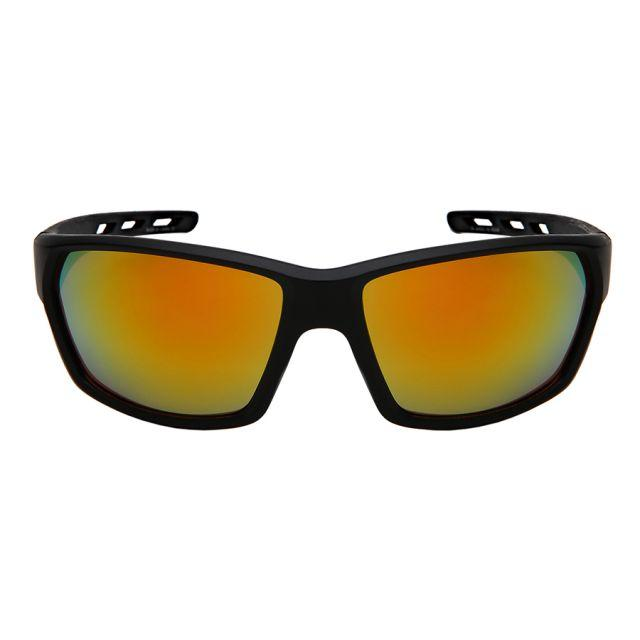 Gatsby - ZunnyDāz - Active - Matte Black Frames + Sunset Orange Lens