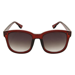 Giella - ZunnyDāz - New Classics - Clear Red Frames + Black Lens