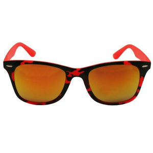 Jamaica - ZunnyDāz - New Classics - Red Orange Camo Frames + Orange Sunset Lens
