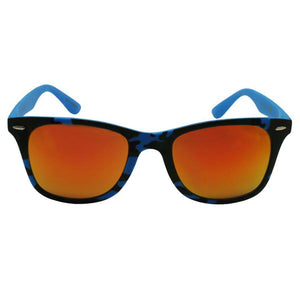 Jamaica - ZunnyDāz - New Classics - Blue Camo Frames + Sunset Pink/Orange Lens