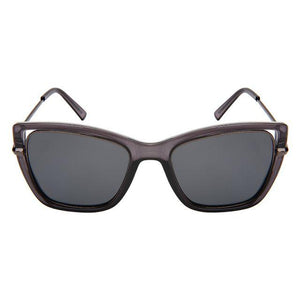 Lia - ZunnyDāz - Cat Eye - Clear Gray/Black Frames + Black Lens